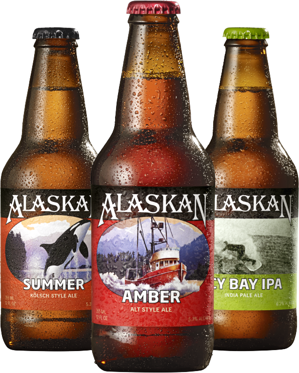 Alaskan Brewing Co. Bottles
